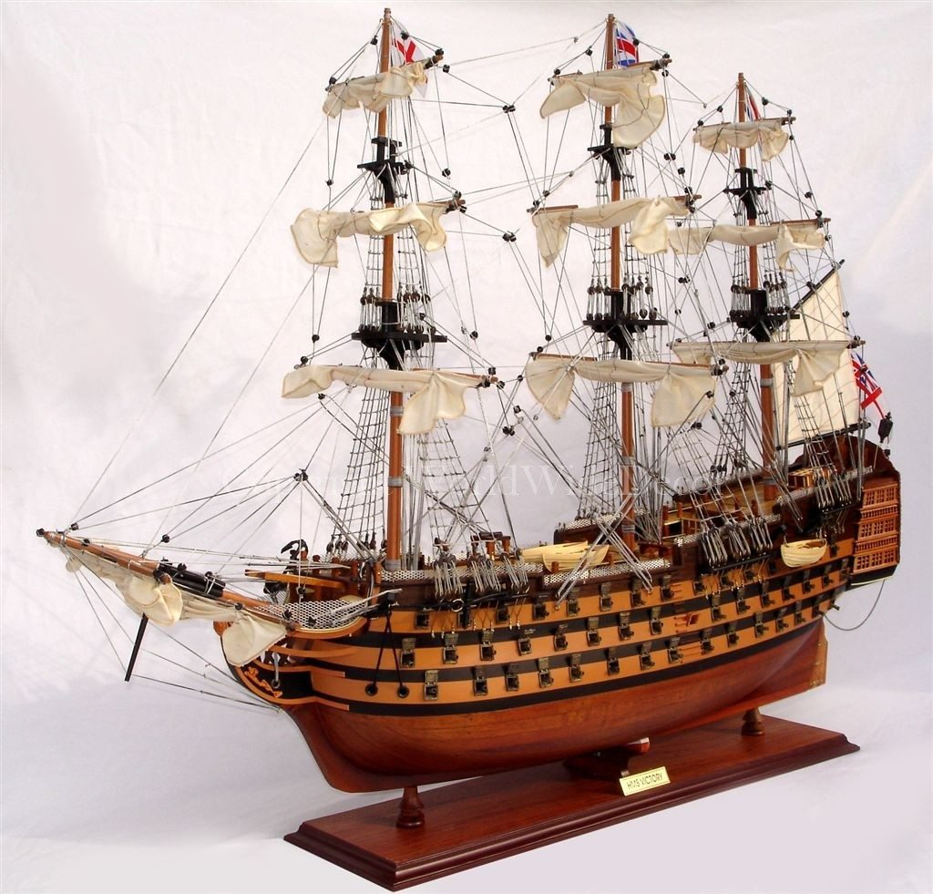 model boat, hms victory