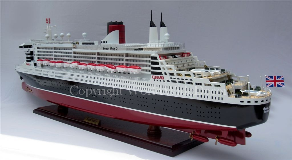 QUEEN MARY 2 PAINTED