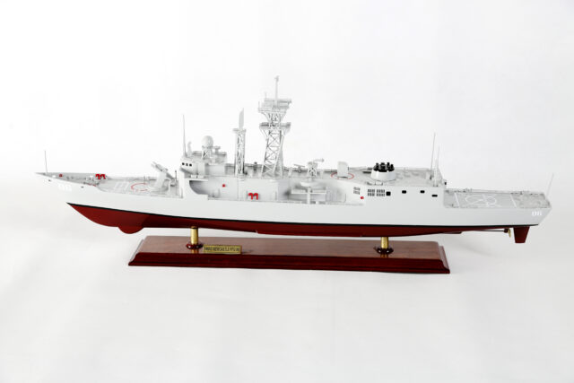 HMAS Newcastle FFG 06 front view